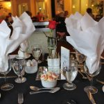 close look at table setting