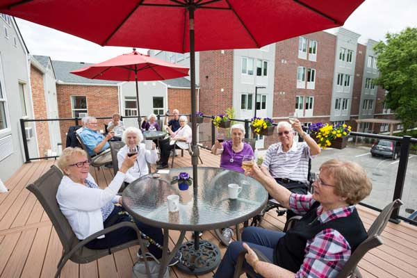 Kingsway Place Seniors Patio