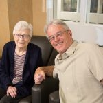 Mother and son at Kingsway Aurora Retirement Residence