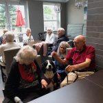 Seeing eye dog at Kingsway Aurora Retirement Residence