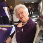 Happy senior at Kingsway Aurora Retirement Residence