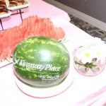 Carved watermelon at Kingsway Aurora Retirement Residence