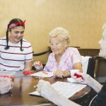 Seniors bingo at Kingsway Aurora Retirement Residence