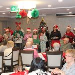 Christmas carolling at Kingsway Aurora Retirement Residence