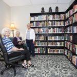 Kingsway Aurora Retirement Residence library