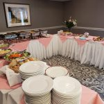 Mothers day buffet at Kingsway Aurora Retirement Residence