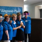 Firendly staff at Kingsway Aurora Retirement Residence open house