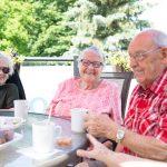 Happy seniors at Kingsway Aurora Retirement Residence